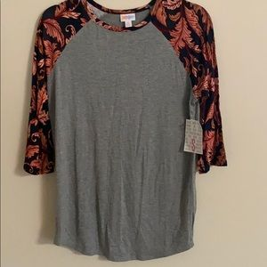Grey fall Randy tee shirt new Lu La Roe